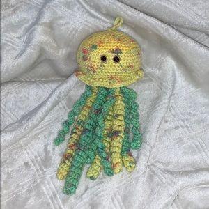 Handmade crochet jellyfish!